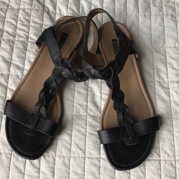 ECCO Bouillon II sandal in black EU size 42